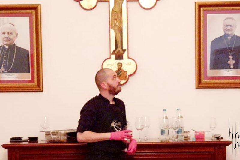 Papa, Blaj, prânzul Papal