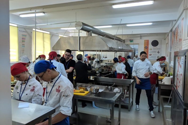 formare profesionala, gastronomic school, aha, taste culinary school